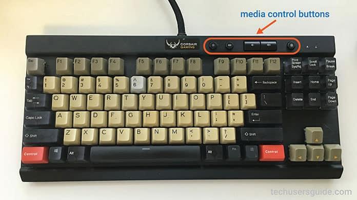 gaming keyboard multimedia keys