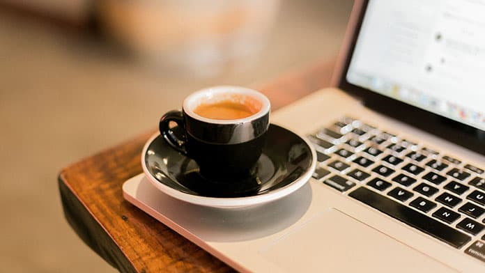 increase laptop life by avoiding spilling drinks
