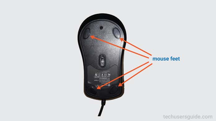 gaming mouse feet